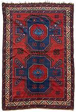Kazak. - Early 20th Century. 198 x 153cm. Condition C. (Repairs).