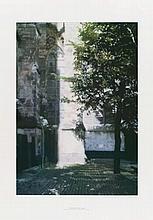 RICHTER, GERHARD 1932 Dresden - lives and works in Cologne Domecke II (Cathedral Corner).1998. Colour offset print on thin cardboard. 77,5 x 55cm (100 x 70cm). Signed, dated and numbered. Verlag Kölner Dom e.V., Köln (ed.). Number 65/100. Framed. -