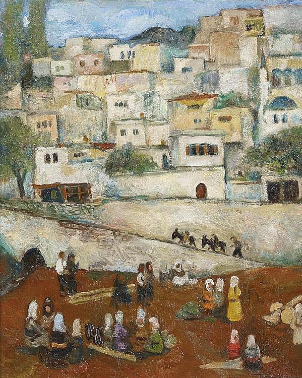 Zaim, Turgut  1906 Instanbul - 1974 Ankara    Untitled (village life).