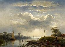 1818 Bruxelles - 1907 MainzRaft-Maker at the Dutch Coast.