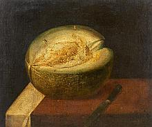 18th CenturyStill Life with Melons.