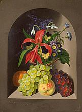 1810 Berlin - after 1841Still Life with Flowers and Fruits.