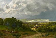 1848 Dorpat - 1890 CologneIsland of Rügen - View over the Bay on Kap Arkona.