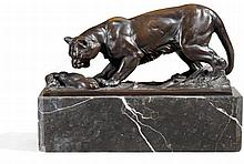 1885 - 1915Lioness with Slain Gazelle.