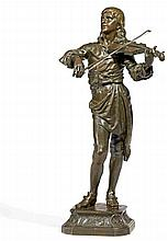 1843 Douai - 1924 ParisPortrait of the Composer and Actor Jean-Baptiste Lully (1632-1687) as Young Violinist.
