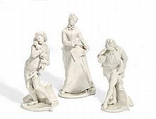 Julia, Mezzetino und Octavio aus der Commedia dell'Arte