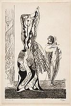 ERNST, MAX 1891 Brühl - 1976 Paris Danseuses.