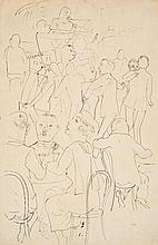 GROSZ, GEORGE Berlin 1891 - 1959 Dance Café. Ca.