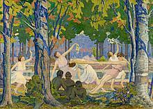 BRAKKEN, ANDREW 1885 - 1979 Spring Dance. 1915.