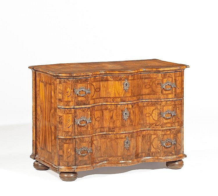 Baroque Chest of Drawers. Germany. Circa 1740-50.