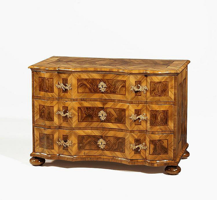 Baroque Chest of Drawers. Southern Germany. Circa