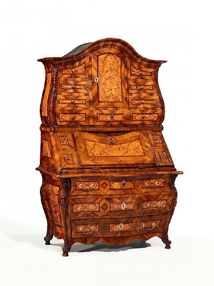 Rococo Three-Tier Secretary Desk. Main-Franconia.