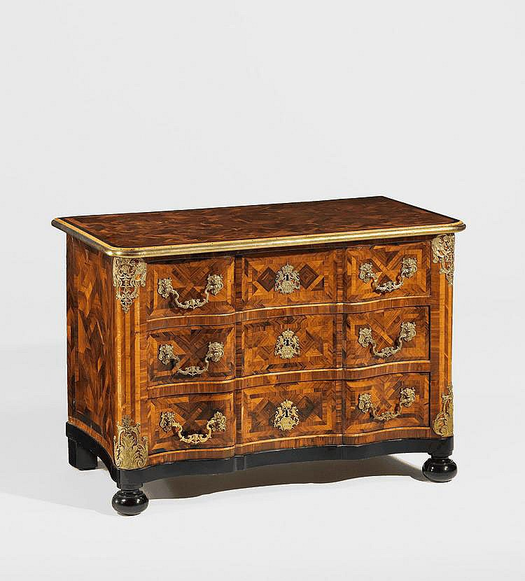 Baroque Chest of Drawers. Munich. Circa 1725-40.