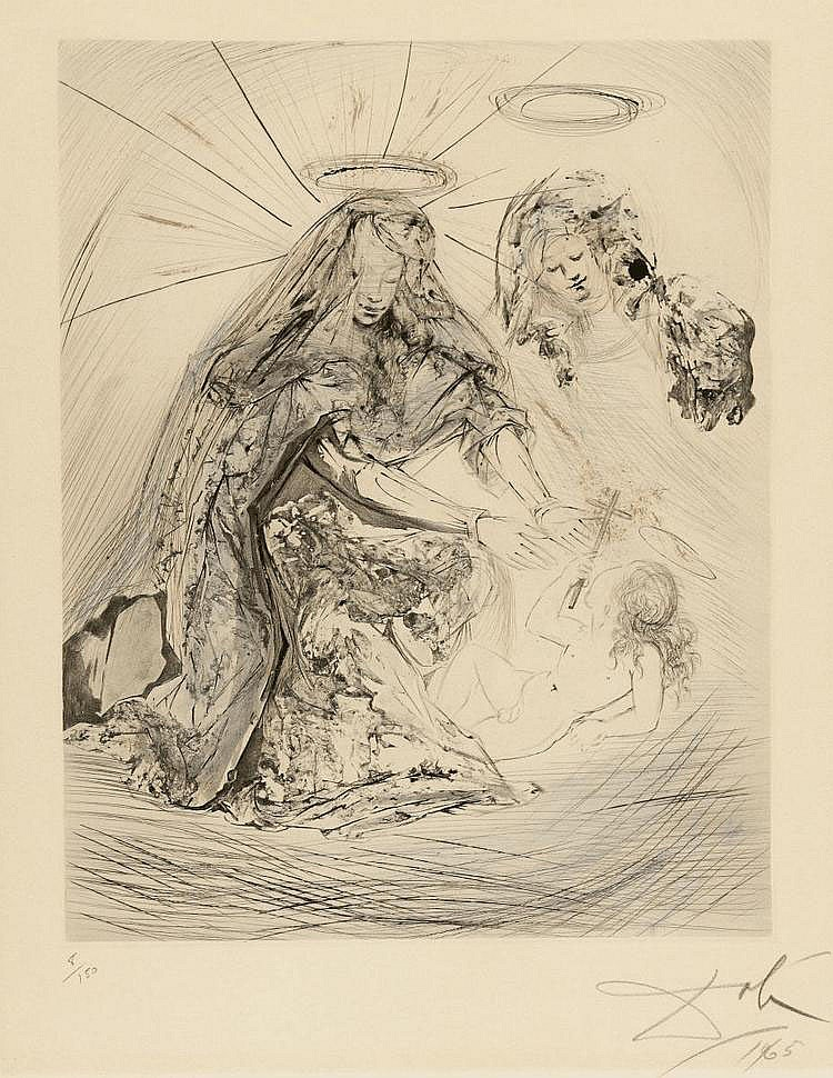 Dalí, Salvador 1904 - 1989 Figueras/Spain Sainte
