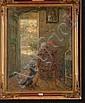 CHARLET Frantz (1862-1928). Huile sur toile
