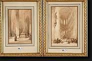 BOSBOOM Johannes (1817-1891). Intérieurs d'église