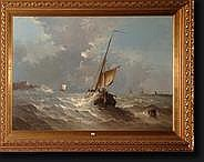 VADER Hendrick (XIXème-XXème). Huile sur toile