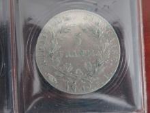 PIECE de 5 Francs AN 12 I Napoléon 1er, état TB