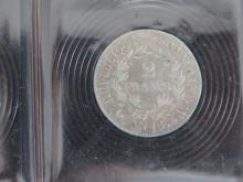 PIECE de 2 Francs AN 13 A Napoléon 1er, état TB