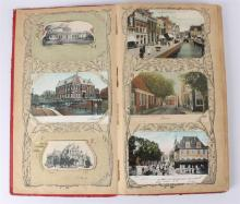 An album with postcards, early 20th century