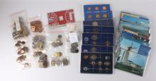 A lot divers coins and paper money, the Netherlands and abroad.