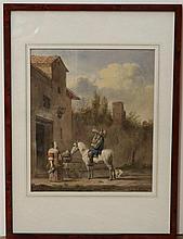 Reinier Craeyvanger (1812-1880) copie naar Karel Dujardin