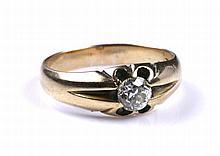 Een diamanten ring