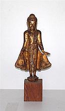 Een staande bodhisattva