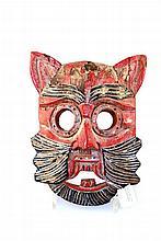 Poezenmasker, Azie