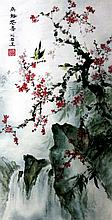Good Chinese Painting of Birds in Landscape