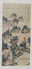 Antique Chinese Landscape Painting