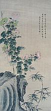 Antique Chinese Flower Painting