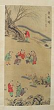 Good Chinese Ink Painting, Signed and Sealed