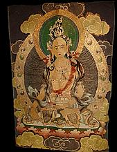Superb Tibetan Thangka