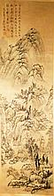 Fine Antique Chinese Landscape Painting