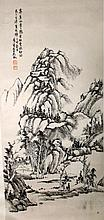 Chinese Ink Landscape Painting, 20th Century