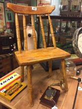 19th C. hedge chair.