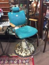 1950's barber's chair.