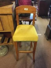 Edwardian child's high chair.