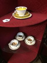 Misc. lot of Victorian China cups and saucers