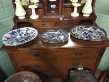 Three 19th C. joint dishes.