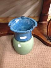 Pottery vase.