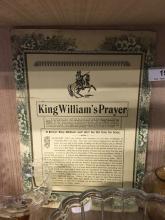 King William's Prayer.