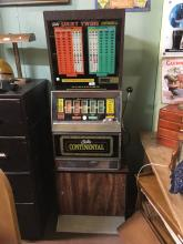 BALLY CONTINENTAL Slot machine. PWO.
