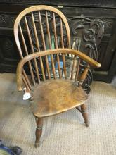 Victorian child's Windsor chair.
