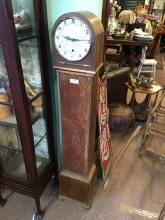 1930's oak Grandaughter clock.