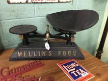 Original MELLIN'S FOOD Baby scales.