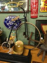 1950's child's penny farthing bicycle.