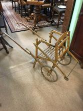 Edwardian child's push chair.