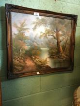 Oil on Cnvas RURAL scene.